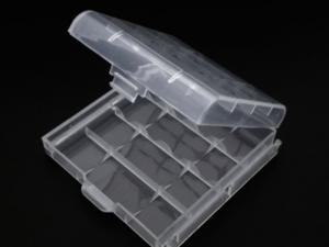 Caja estuche organizador baterías AA y AAA