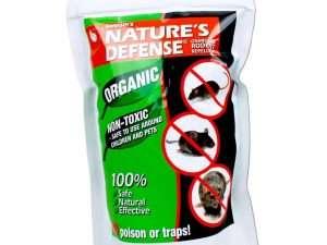 Ahuyentador Nature's Defense Repelente Animales Roedores 22 Onzas