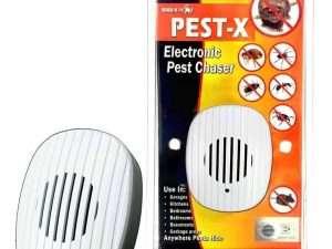 Ahuyentador Pest-x Control De Plagas Ultrasónico Enchufable