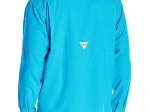 Camisa Columbia Hombre Manga Larga Azul Talla M