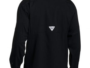 Camisa Columbia Negra Manga Larga Talla M
