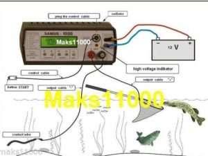 Paralizadora de Pesca Samus 1000- Electro Fisher