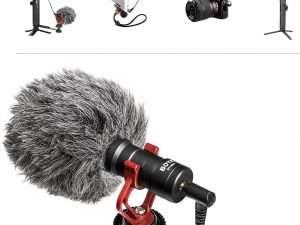 Micrófono de vídeo- BOYA MM1