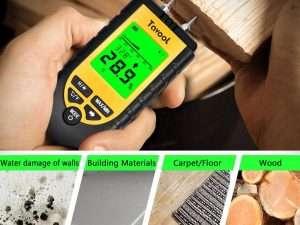 Medidor digital de humedad de madera