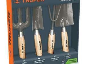 Juego de herramientas para jardineria truper