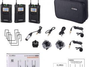 Micrófono inalámbrico Comica CVM-WM100 Plus Professional
