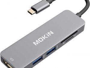 Adaptador Hdmi Para Macbook Pro 5 En 1 Usb-c A Hdmi