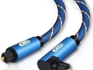 Cable Óptico Toslink De Audio Hdmi Naylon Trenzado de 2 m