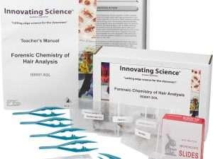 Kit de análisis del cabello química forense