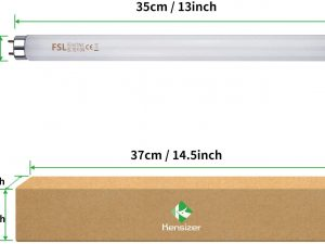 2 Bombillas De Repuesto De 10w Para Lámparas Luz Uva