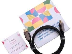 Cable Hdmi 2.1 Trenzado Compatible Con 48 Gbps Pacroban 92cm