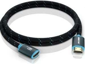 Cable Extensor Hdmi (macho A Hembra, 4 K, 60 Hz, 48 Gbps)