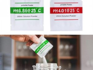 Polvo de calibración de pH Buffer Solution Powder x 2