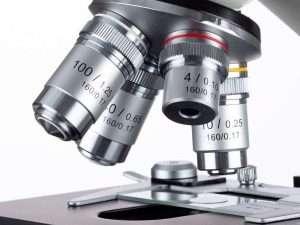 Microscopio Binocular Led Omax 40x-2000x De Laboratorio