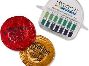 Medidor De Ph Hydrion, Dispensador Brillante