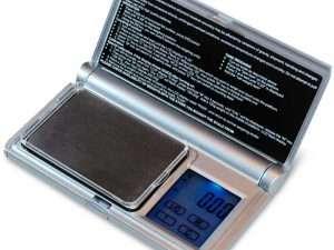 Báscula Digital De Bolsillo Con Pantalla Táctil 200g